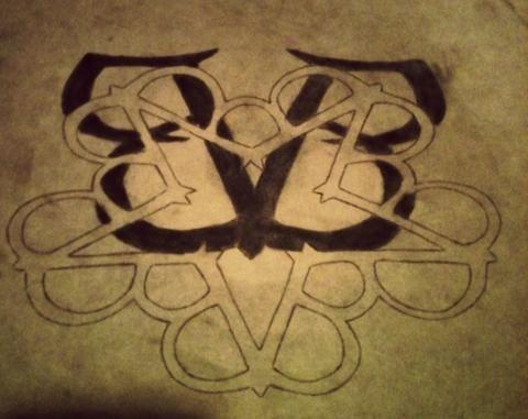 Black veil brides logo by xSCARFAC3x