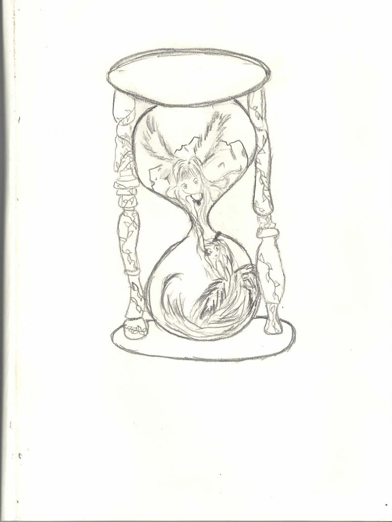 ANIME Good And Evil HOURGLASS By AlevMarie On DeviantART
