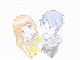 Satoshi and  Midori