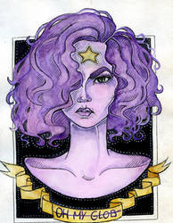 Purple Princess by Alexandra-Mad
