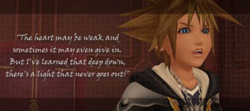 Kingdom Hearts Sora Quote by TheHeartlessPrincess on ...
