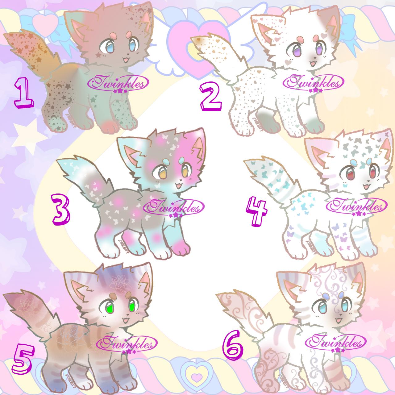 Kitten Adopts Batch(OPEN)2/6 left