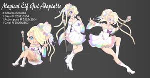 (CLOSED) Auction Magical Elf Girl Adopt