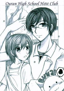 Kyoya and Haruhi
