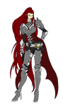 Miyuk - Vampire Armor by Shadow-fox5