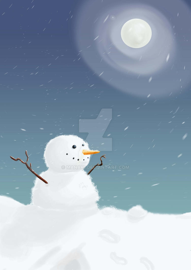 snow man by manar1