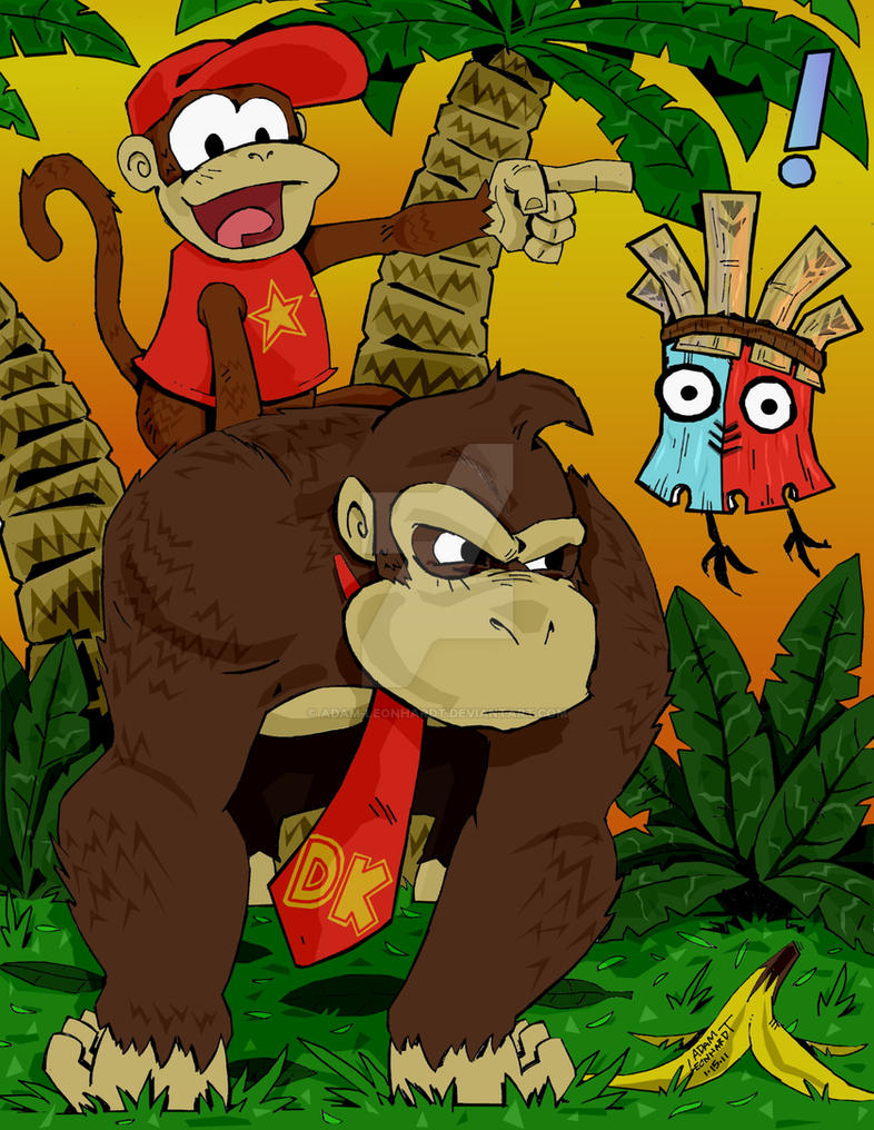 Donkey Kong Country by Adam-Leonhardt