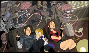 Resident Evil 2 by Adam-Leonhardt