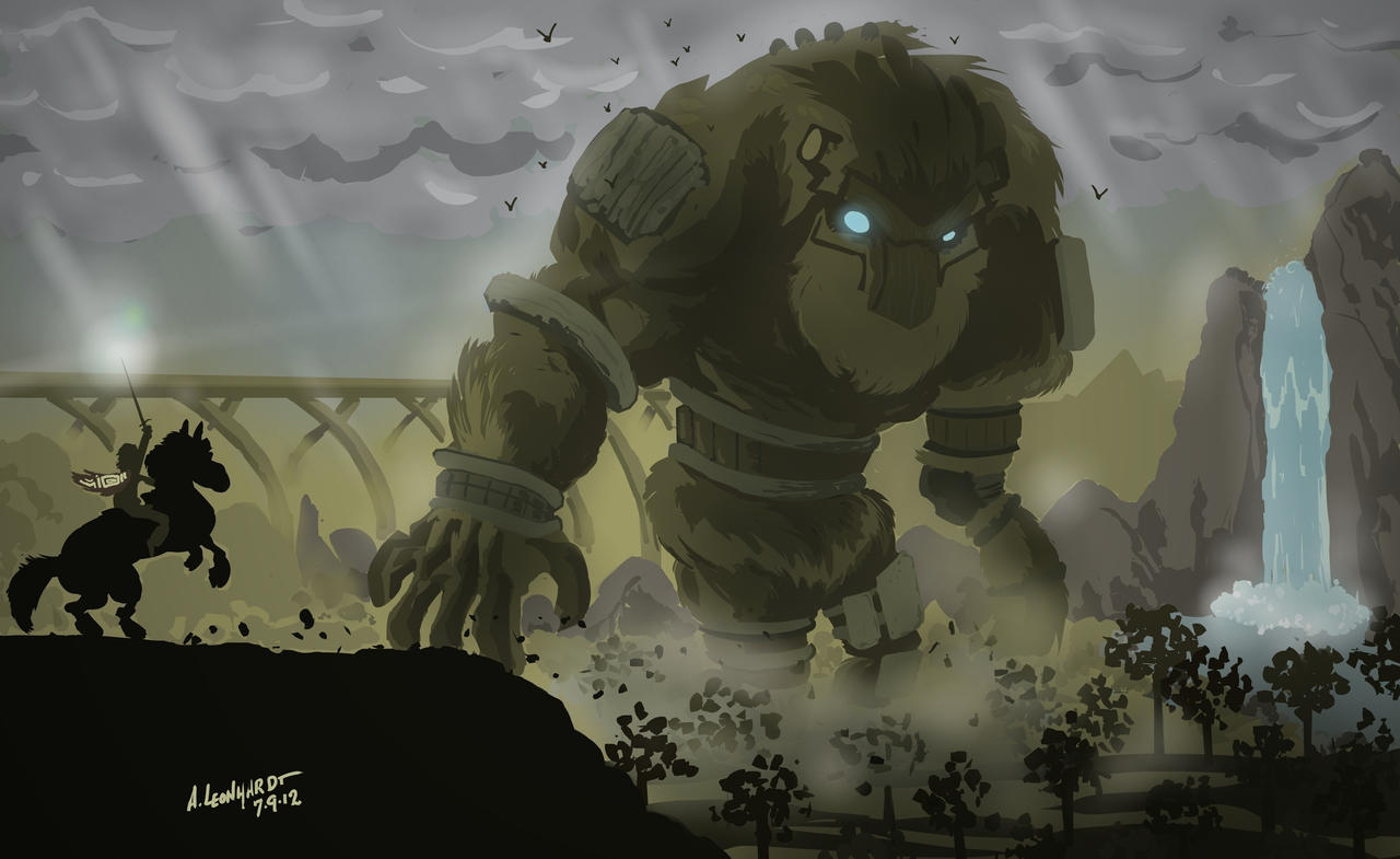 Shadow Of The Colossus By Adam Leonhardt