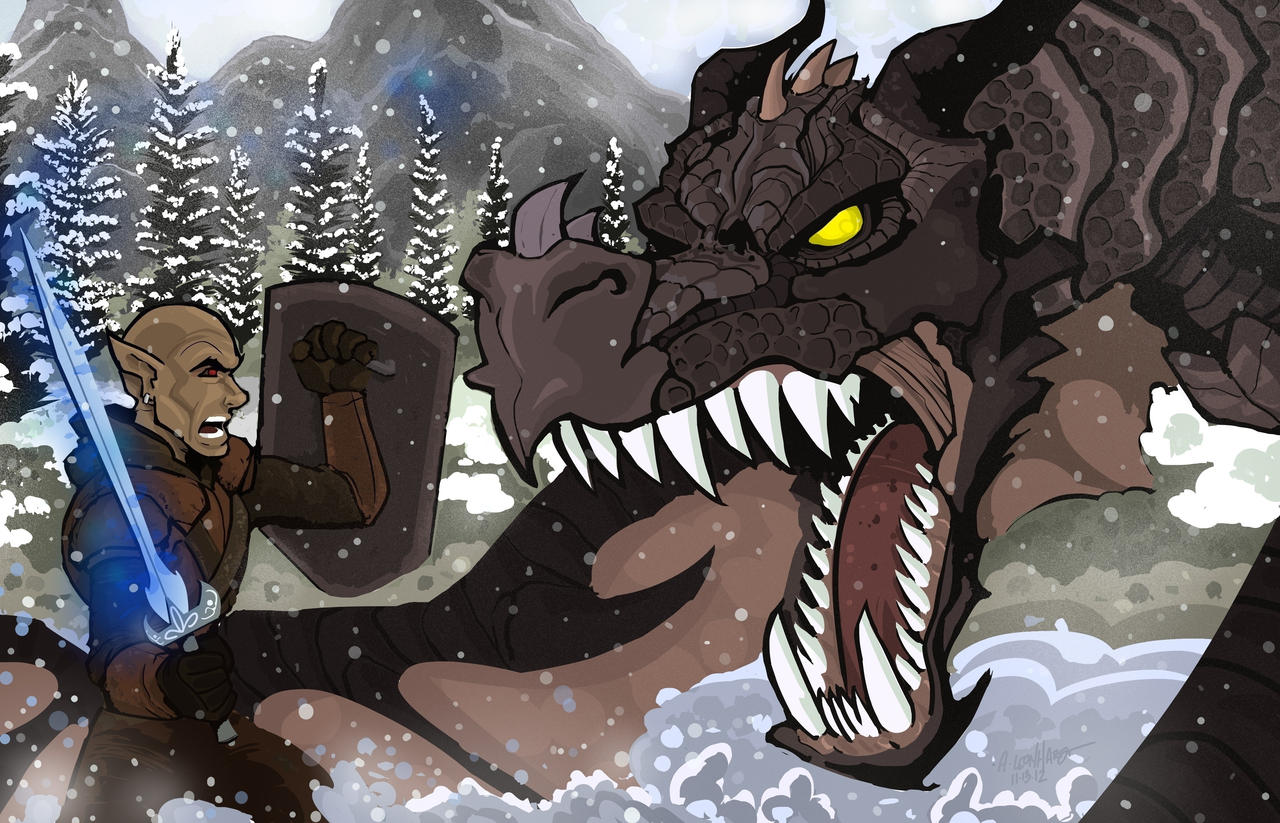 Skyrim: Dragonborn by Adam-Leonhardt