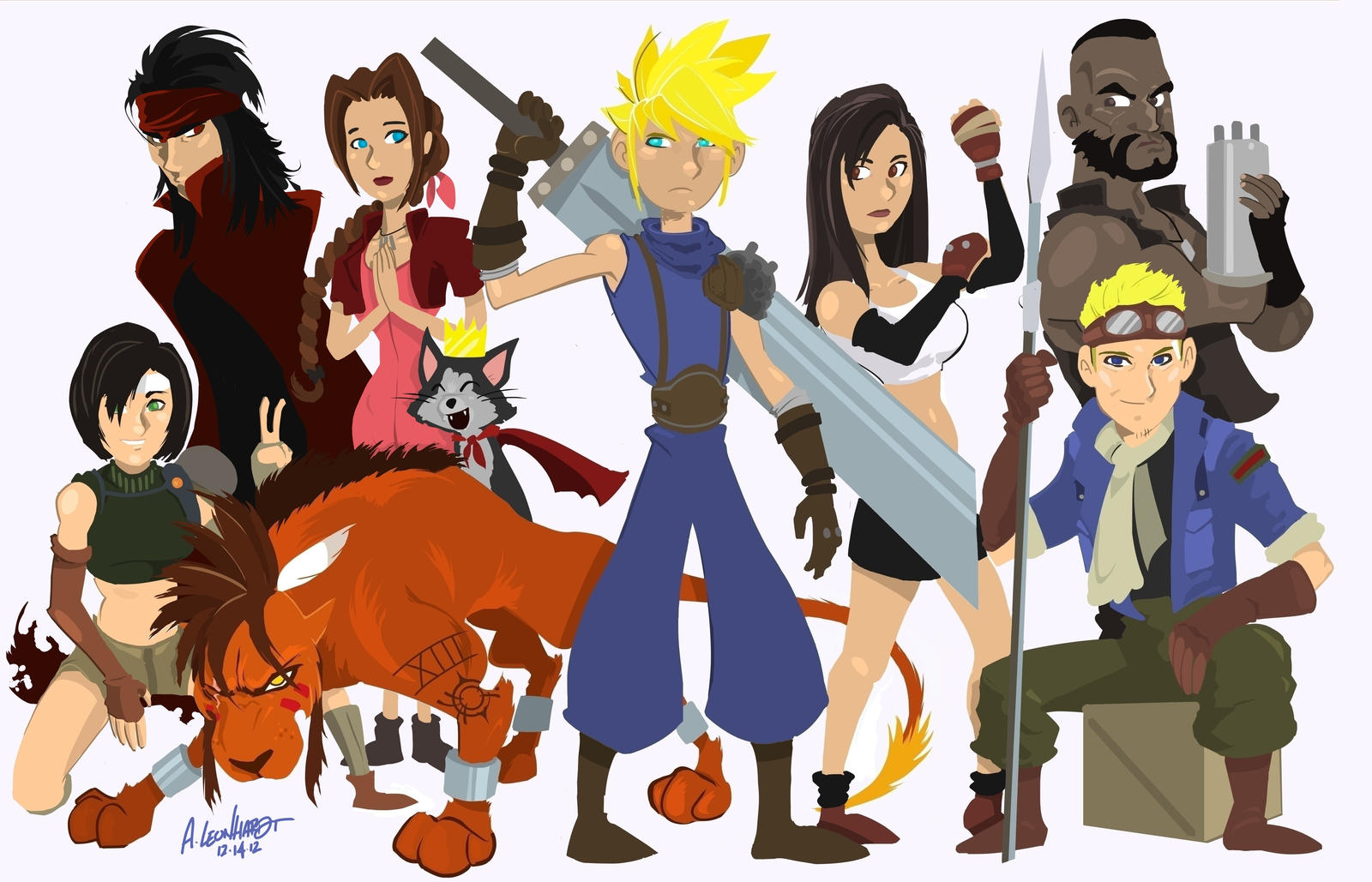 Final Fantasy 7 Complete by Adam-Leonhardt