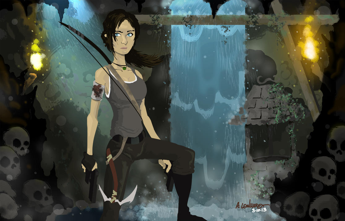 Tomb Raider: Survivor by Adam-Leonhardt