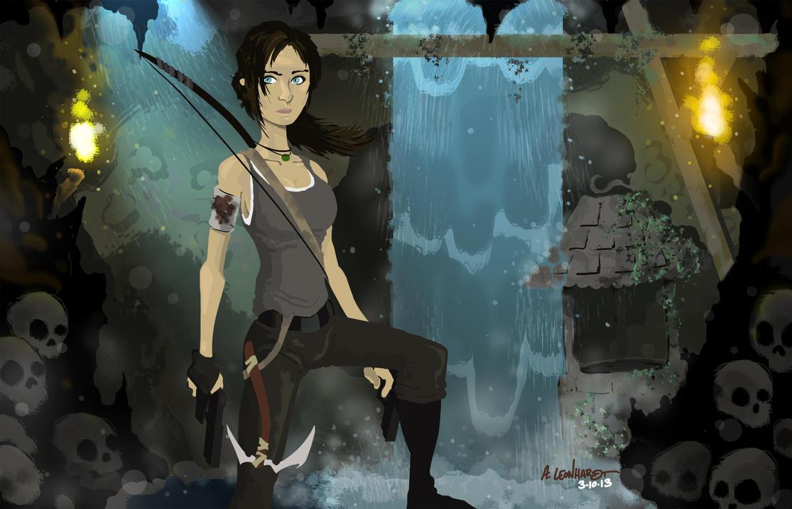 Tomb Raider: Survivor by Adam-Leonhardt
