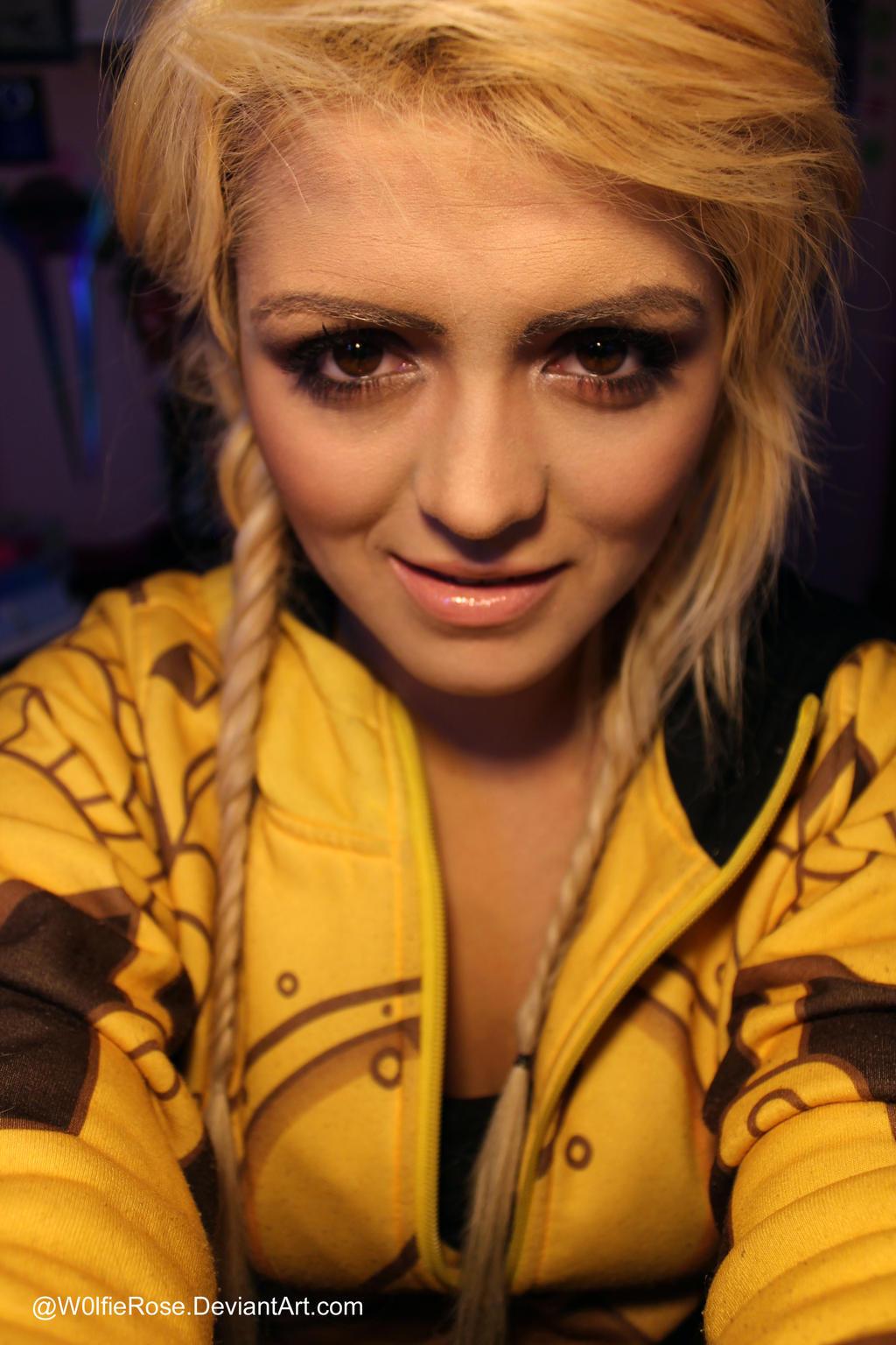 Jinx Makeup by W0lfieRose