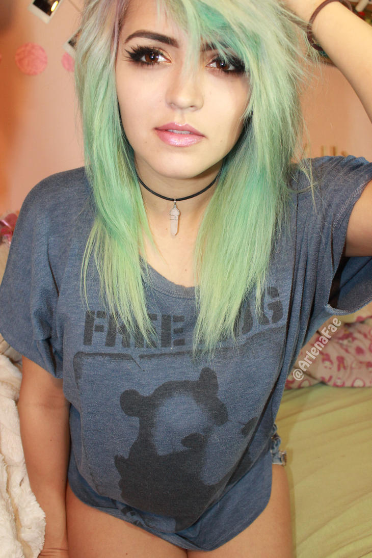 Pastel Ombre Hair by W0lfieRose on DeviantArt Dyedhair