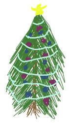 Sketch a Christmas Tree