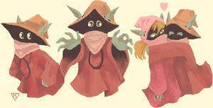 orko and dree elle by Kayisok
