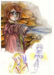 hobbit sketchpage