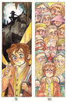 The Hobbit Bookmarks V / VI