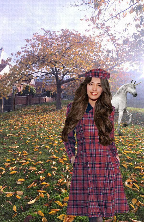 Spring in autumn days by vafiehya