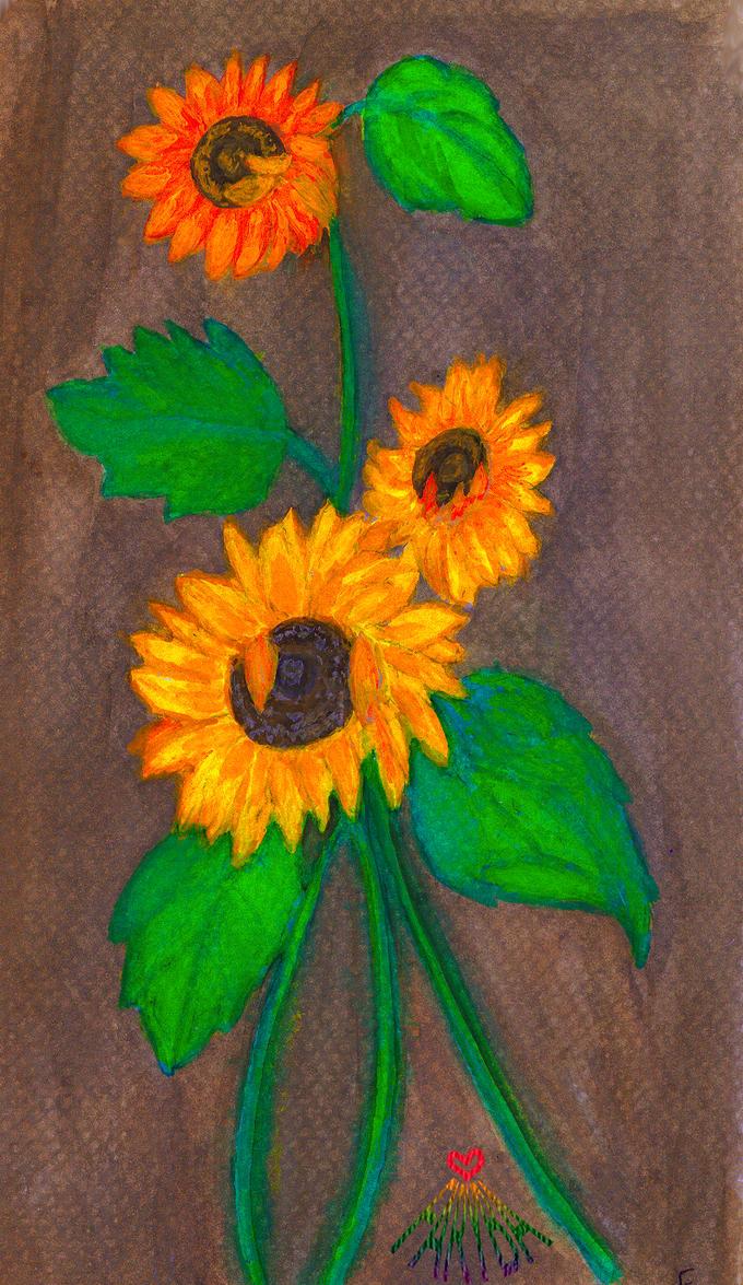 Sunflower by vafiehya