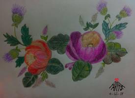 Friendship flowers by vafiehya