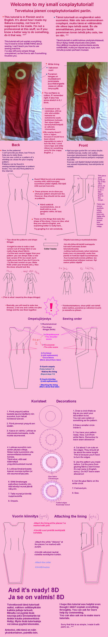 Sakura's dress - tutorial by Minya40
