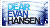 Dear Evan Hansen stemp by RED-R0BIN