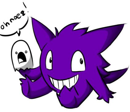 Cute Gengar by TelosCrusader on DeviantArt