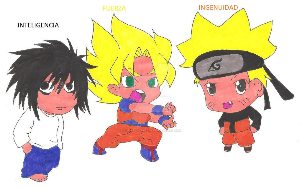 L Goku Naruto Chibi by Juanflingarcia on DeviantArt