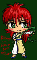 Kurama: Even a Rose Has Thorns by IcyPanther1