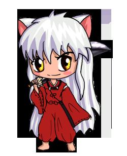 Inuyasha Chibi By IcyPanther1