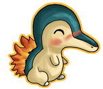 Cyndaquil Chibi by IcyPanther1