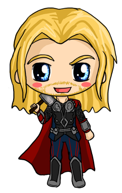 Thor Chibi by IcyPanther1 on DeviantArt
