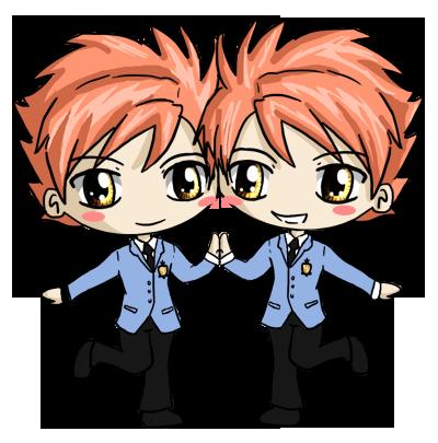 Hikaru and Kaoru Chibi by IcyPanther1 on DeviantArt  Hikaru and Kaor...