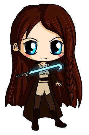 Commission: Jedi Meg by IcyPanther1