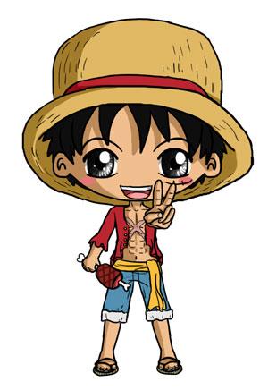 Luffy Chibi by IcyPanther1