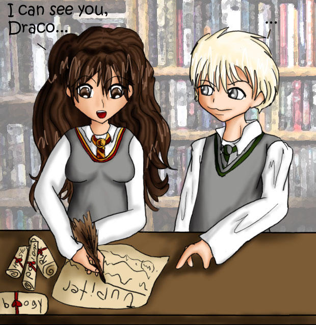 I can see you, Draco by IcyPanther1