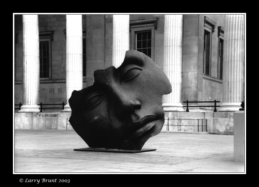 Outside the British Museum by inessentialstuff