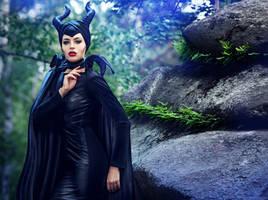 Maleficent by BazingaCosplay
