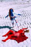 Mystique and Wanda