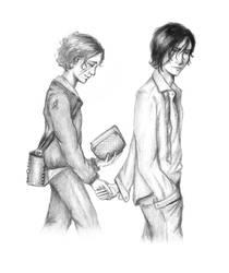 Remus and Sirius by babycham