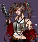 [COMMISSION] Yasuki-Konno Original Character