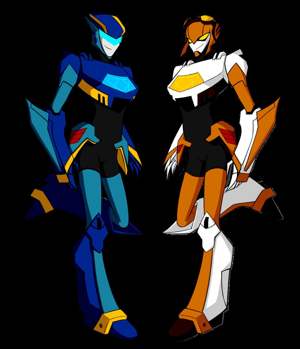Jet twins by NecromancyInc