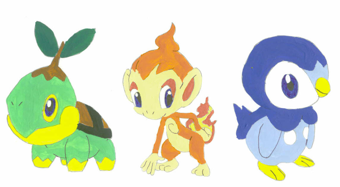 Opinion you pokemon diamond and pearl starters pity, that