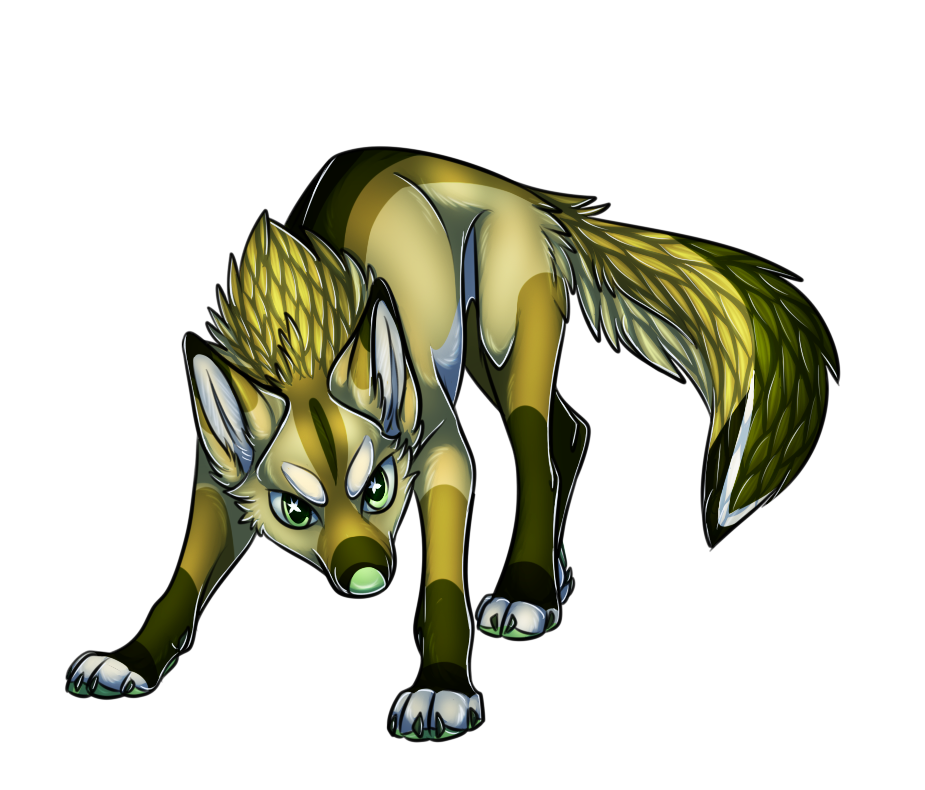. Gold Fox by Abzinhyx