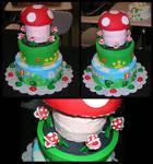 Sr. Project: Super Mario Cake