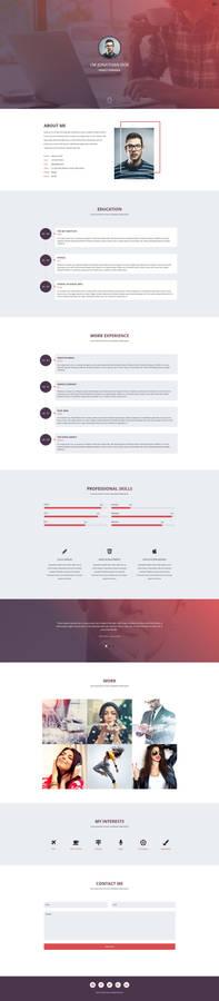 Verka - CV/Resume HTML Template