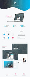 Skapp - App HTML Template by DSaerox