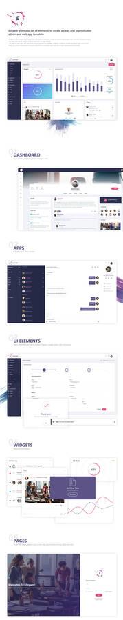 Elisyam - Web App and Admin Dashboard Template